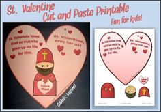 Saint Valentine's Day {Printables and Activities} + Link-up!   Catholic Inspired ~ Arts, Crafts, and Activities!