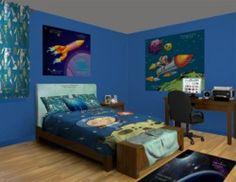 Astronaut Travels Kid Boy Room!