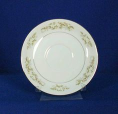 Fine China of Japan Pattern Springtime 326 White Saucer bfe2086 #InternationalSliver #FineChinaofJapan