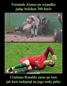 Cristiano Ronaldo zaraz po tymjak ktoś nadepnął na jego mały palec –
