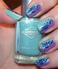 amazing acrylic nail styles - http://coolnaildesignsz.com/cool-acrylic-nail-designs/