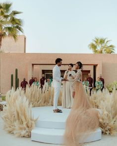 "WEDDED WONDERLAND on Instagram: ""Getting married in style in Marrakech!!! @wildeindigochild @keegan.phillip 📸:@michellescottphoto @lekiosqueafleursmarrakech @naroknyc…"" Wedding Ceremony Decorations, Wedding Bells, Wedding Ceremonies, Burning Sage, Pearl Dress, Tulle Dress, Floral Wedding, Gold Wedding, Wedding Flowers"