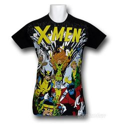 Images of X-Men The All New Sublimation 30 Single T-Shirt