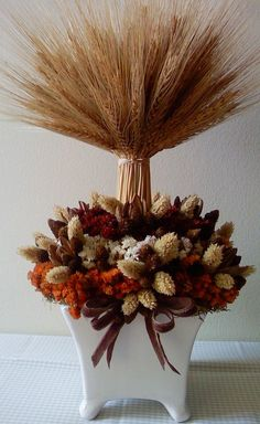topiary great for fall or wedding