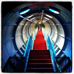 Inside the Atomium #Brussels via @patrick_myles on Instagram