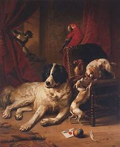 old dog painting - Google Search