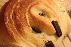Pain au chocolat à IG bas sans beurre : yaourt/fromage blanc*, farine épeautre, lait,...
