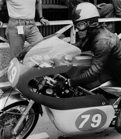 Bill Ivy - Jawa 350.  East German GP 350 1969, Sachsenring. William David Ivy (27 August 1942–12 July 1969) During practice for the fifth race, on the Sachsenring in East Germany, Ivy was touring back to the paddock with his helmet resting on the tank when his motorcycle's engine seized. He was thrown from the bike, sustained massive head injuries, and died in hospital.