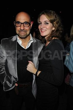 I don't know why, but I love this. Stanley Tucci and Felicity Blunt.
