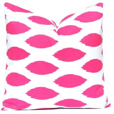 15 Off Hot Pink Pillow Covers Pink Damask on White Decorative Throw... ($14) ❤ liked on Polyvore featuring home, home decor, throw pillows, decorative pillows, home & living, home décor, light pink, chevron pillow shams, chevron throw pillows and pale pink throw pillows