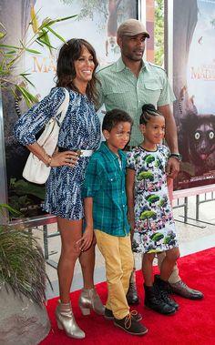 THE KODJOES STOP BY THE 'ISLAND OF LEMURS' PREMIERE - Black Celebrity Kids