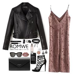 """""""lavish rose gold"""" by gorlmoria ❤ liked on Polyvore featuring Balenciaga, Steve Madden, Kate Spade, Gentle Monster, NARS Cosmetics, Calvin Klein, Boohoo and Obsessive Compulsive Cosmetics"""