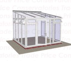 DIY Conservatories by Trade Price DIY. For a DIY Conservatory look no further than Trade Price DIY we specialise in quality Self Build Conservatories & DIY Conservatories. Edwardian Conservatory, Lean To Conservatory, Glass Conservatory, Conservatories For Sale, Small Sunroom, Diy Gutters, Roof Trim, Starter Home, Roofing Systems