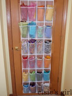 31 Days of Getting Organized (Using What You Have) - Day 27: Organize With Over-the-Door Shoe Organizers - Organize and Decorate Everything
