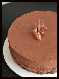 Crispy & Sparkling Entremet: The easy recipe, better than the pastry chef and who throws it every time Thermomix Desserts, No Cook Desserts, Dessert Recipes, Kitchen Aid Artisan, Desserts With Biscuits, Chocolate Desserts, Sweet Recipes, Sweet Tooth, Food And Drink