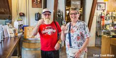 Wisconsin Getaway: 48 Hours to Explore Cedarburg Cedar Creek Winery, Wisconsin Getaways, Cedarburg Wisconsin, Our Town, Places To Go, Explore, Shopping Travel, Holiday Time, Afrikaans