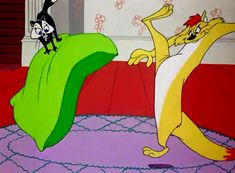 Image result for feed the kitty looney tunes pussyfoot