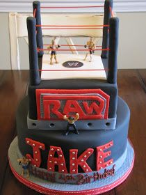 It's wrestling party! Reece and Reagon would love this!!!