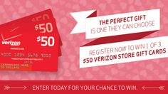 Can you hear the birds singing? Smell the flowers? Taste the chocolate? This Valentine's Day, Verizon and Motorola want to celebrate by giving you a chance to win prizes every day between 2/1/14 - 2/14/14 to make your V-Day a little more special. Follow Verizon on Pinterest, register and you could win the #VerizonVDayGiveaway!  #ad