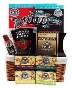 Alaska Smokehouse Leila Bay Gift Basket [Misc.] - http://www.yourgourmetgifts.com/alaska-smokehouse-leila-bay-gift-basket-misc/