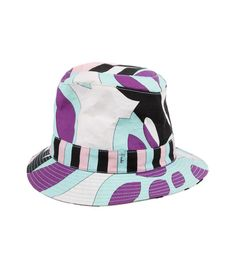 d41839646dc Emilio Pucci Abstract Bucket Hat Summer Starter