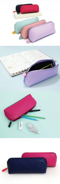 The brightest way to carry your pencils, pens, school supplies, and planner essentials? The Colorful Tiny Block Case! This cutie will hold all your daily stationery essentials wherever you are. ^.~*