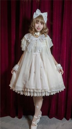Angels Heart ~The Secret Language of Flora~ Surface Layer Dress $44.99 - My Lolita Dress