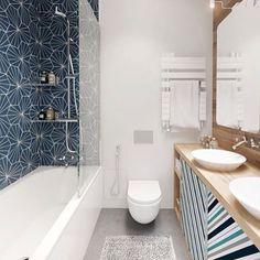 """""""Banheiro super descolado!"""