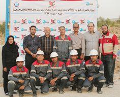 پروژه تجهیز عمیق ترین چاه آب شرب کشور با بهره گیری از نسل ششم کابل swr جهرم-مهرماه1396