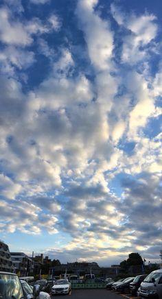 #Roppongi #Tokyo #Japan  #clouds #blue #sky #六本木 の #白い雲 #イマソラ #空 #そら