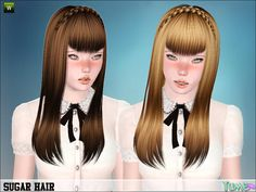 back hair styles 127 best sims 3 hairstyles images on sims hair 1761 | c32e6a3bfa19111b5c9d660e14938e37 sugar sims resource