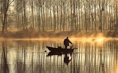 Pêcheur de l'aube