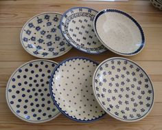 Blue pottery
