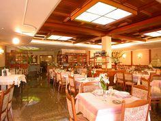 Ampi spazi in sala ristorante