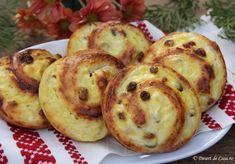 Melcisori cu branza dulce si stafide - Desert De Casa - Maria Popa Sweets