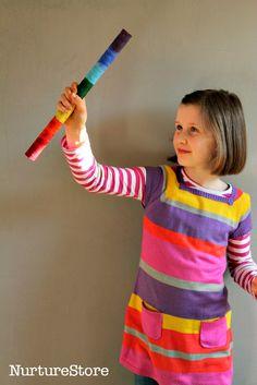 How to make a rainstick musical instrument - NurtureStore