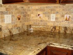 How To Select The Greatest kitchen backsplash designs — Design Roni Young Kitchen Backsplash Images, Kitchen Tiles, Stone Kitchen, Backsplash Ideas, Travertine Tile Backsplash, Timeless Kitchen, Kitchen Wall Colors, Granite, Subway Tile