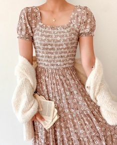 Cute Casual Outfits, Pretty Outfits, Pretty Dresses, Beautiful Dresses, Casual Dresses, Summer Dresses, Modest Dresses, Mode Outfits, Fashion Outfits
