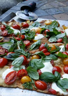 Tomato time of year — the grill and pizza! pleasure in simple things blog