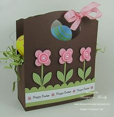 love the construction of the flowers using the flower fusion die and the blossom builder punch (Stampin' Up!)