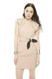 Short Rafael Neckline Dress