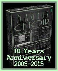 This year we celebrate the 10th Anniversary of Magnus Choir VSTi Software and we continue our commitment to provide software solutions for musicians. Thanks for all your support!... #MagnusChoir #MagnusChoir10Years #MagnusChoir10YearsAnniversary #MagnusChoir10thAnniversary http://magnus.syntheway.net