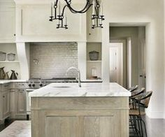 Whitewash Cabinets On Pinterest Whitewash Kitchen