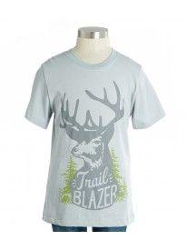 Trail Blazer Reindeer Tee #Deer #woodland #animals