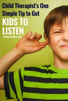 Child Therapist's One Simple Tip: How to Parent So Children Will Listen Tired of being ignored by your kids? Get your kids to listen with this one simple and effective approach from a child therapist. Gentle Parenting, Parenting Teens, Parenting Advice, Parenting Styles, Parenting Quotes, Children Will Listen, Helping Children, Parents, Kids Behavior