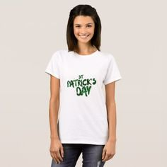 St Patrick day T-Shirt - st patricks day gifts Saint Patrick's Day Saint Patrick Ireland irish holiday party
