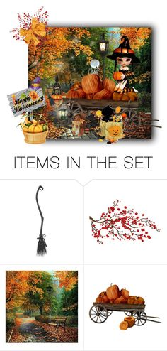 """""""Last Minute Halloween Touches"""" by rainheartcreations ❤ liked on Polyvore featuring art"""