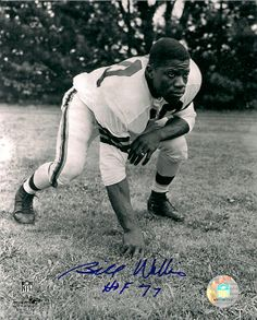 Bill Willis Signed 8x10-Cleveland Browns-HOF