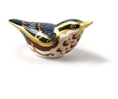 Royal Crown Derby Nuthatch paperweight