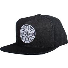 25381b4e054 Benny Gold Cheers Denim Snapback Hat (Black)  31.95